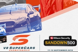 RTSSV is the official charity partner for the Wilson Security Sandown 500