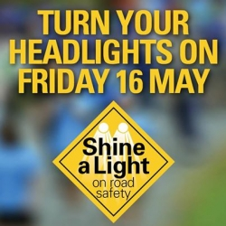Minister for Roads Terry Mulder – Shine a Light on Road Safety campaign